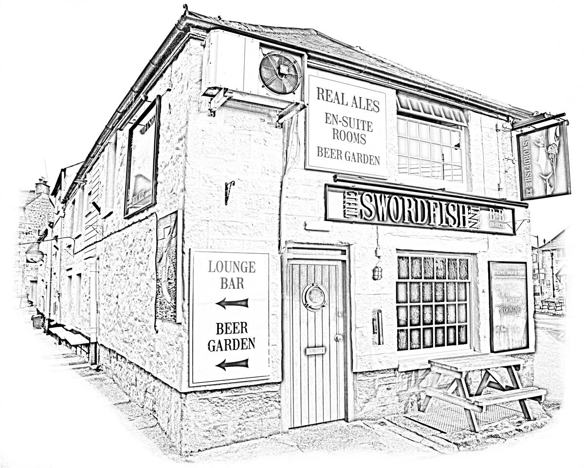 swordfish pub newlyn
